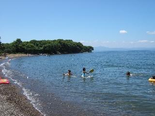 湖水 浴 琵琶湖